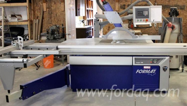 Used 2015 Felder FORMAT 4 KAPPA Sliding Table Saw