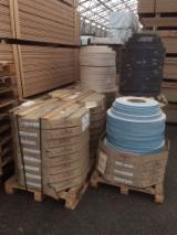 Engineered Wood Panels - PVC profiles 22 mm x 13/10 mm for veneer panels