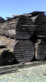 Unedged Hardwood Timber - Boules France