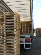 Pallets En Verpakkings Hout - Eenmalige Pallet, Nieuw