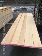 Softwood  Unedged Timber - Flitches - Boules - Fir Loose 23-63 mm Austria