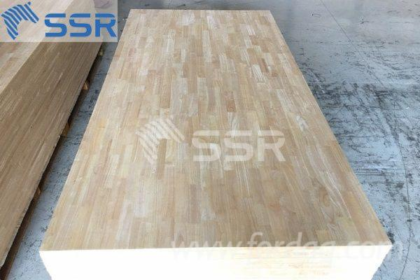 Rubber-Wood--Finger-Jointed-Panel