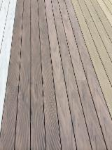 Flooring And Exterior Decking - WPC decking Eco Friendly Anti Slip Decking, 18 x 130 mm