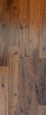 American Walnut Varnished Parquet (T&G), ABCD, 19 mm