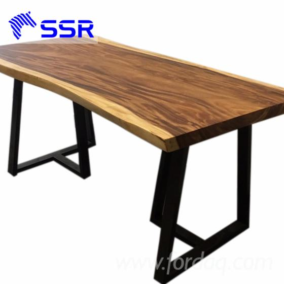 Acacia--raintree--wenge-wood-table--countertop-for-house-office