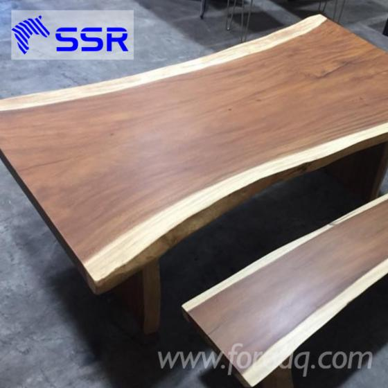 Acacia/ raintree/ wenge wood table/ countertop for house/office furniture