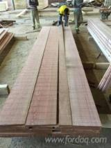 Sawn And Structural Timber Germany - KD Sapelli Square Edged Boules