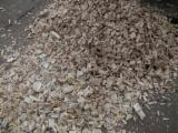 Brandhout - Resthout Houtspaanders Van Gebruikt Hout - Dennenhoutschaafsel