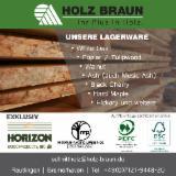 Laubschnittholz, Besäumtes Holz, Hobelware  - Yellow Poplar - American tulipwood - lange Längen
