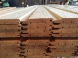 批发木材墙面包覆 - 护墙板,木墙板及型材 - 实木, 落叶松, 西伯利亚落叶松, 外部覆层