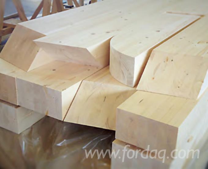 Spruce/ Larch Glulam Straight Beams