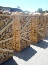 Firewood, Pellets And Residues Firewood Woodlogs Cleaved - Firewood cleaved, beech, oak