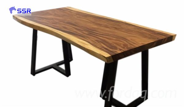 Acacia/ Wenge/ Raintree Wood Slabs for Table/ Dining Table