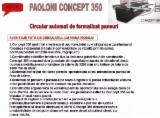 Paoloni Woodworking Machinery - New Paoloni P 350 Circular Saw For Sale Romania