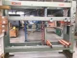 HOLZ-HER Woodworking Machinery - Used 1995 HOLZ-HER 1530 Semi-automatic Case Clamp