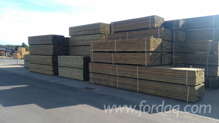 Pine Lumber CE 24, KD, 70 mm thick