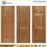 Nature Teak Moulded HDF Door Skin, 3mm