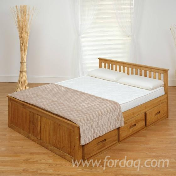 . Modern bedroom furniture wood bed