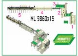 Glulam Production Line - Length Connection Line, ML 9860