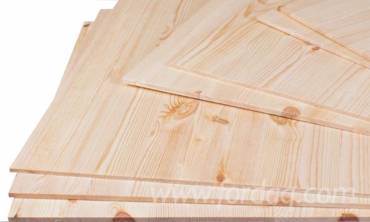 Nordic Pine Semi Finished Postformed  Furniture Quality.