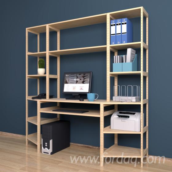 Model-%E2%84%96-6---Shelving-system-with-a-Computer-desk-3-sections