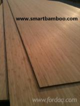 Vender Folheado Natural Bamboo Corte Plano, Figurativo