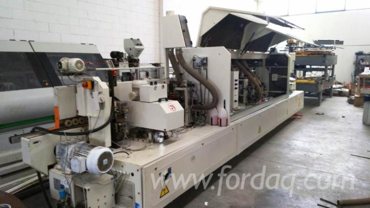 Used IDM Activa R-74 Edge Banding Machine, 2002