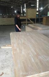 FJ Rubberwood Laminated Panels, 12-120 mm.
