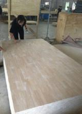 Solid Wood Finger Jointed Rubberwood Boards