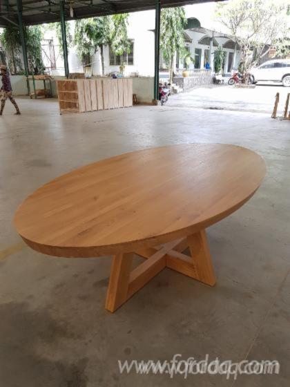 Oak Dining Tables Furniture - Furniture from Vietnam