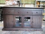 Vietnam Living Room Furniture - Solid Oak - TV Cabinet Living Room Furniture.