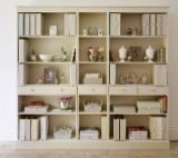 Mahogany Living Room Furniture - A french style entertainment bookcase