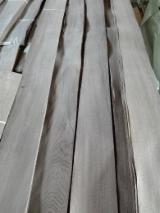 Drewniane Orkusze Okleiny Z Całego Świata - Złożone Palety Okleiny - Fornir Naturalny, Okleiny Naturalne, Dąb, Rozwidlony