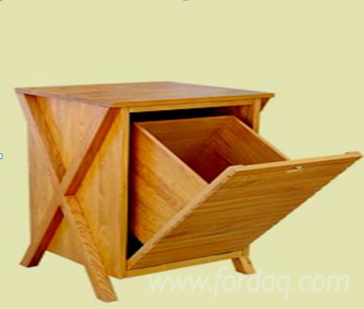 Ash Wood Furniture - Offer for Laundry Basket Cabinets Furniture 40*35*93 cm