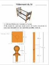 Holzkomponenten, Hobelware, Türen & Fenster, Häuser Afrika - Europäisches Laubholz, Massivholz, Buche