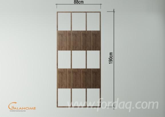 Acacia Bookcase Furniture - Living Room Furniture