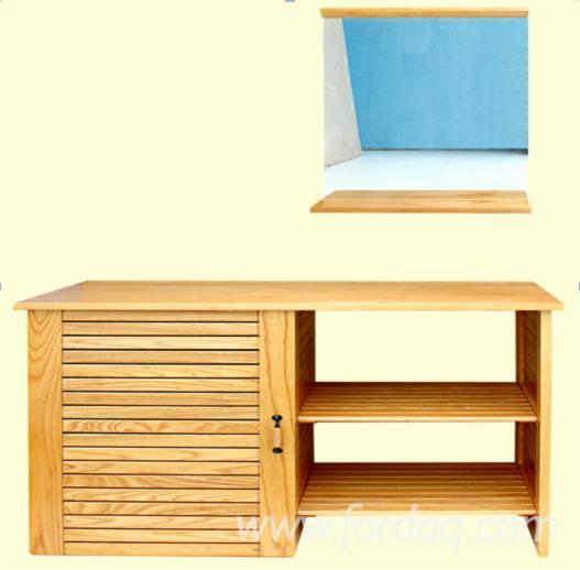 Under Basin Cabinet with Mirror - Furniture from Vietnam