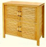 White Ash Bathroom Furniture - Ash Wood Furniture - Commode Cabinets Furniture 90*35*94CM / Bathroom furniture Vietnam