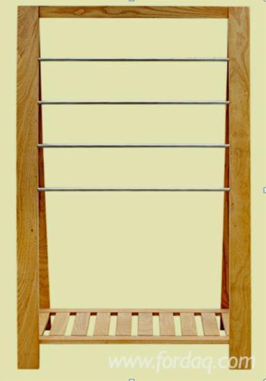 Furniture from Vietnam - Ash Wood Towel Hanger, 60 x 35 x 160 cm