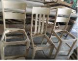 Wood Components, Mouldings, Doors & Windows, Houses - Wood Components - Rubberwood Unfinished Wooden Chairs