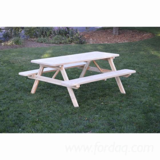 Pine Garden Benches - Outdoor Furniture