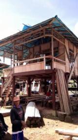 Case Din Lemn Si Structuri Case Din Lemn - Casă Din Panouri Structurale Foioase Din Asia