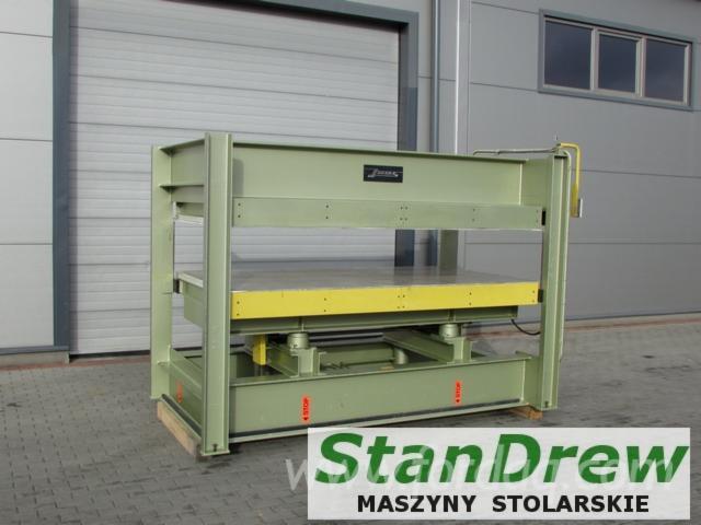 Gebraucht JOOS 1990 Handbeschickte Furnierpresse Für Ebene Flächen Zu Verkaufen Polen