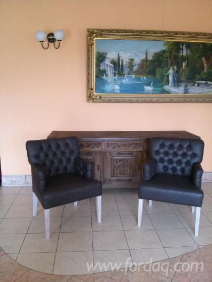 Pine Wood Dining Chairs.
