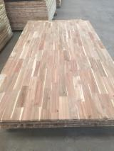 Acacia, Melia Finger Jointed Panels from Vietnam