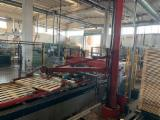 Pallet Production Line - TOP EURO Pallet Line for EPAL, CP1- CP6 Pallets.
