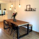Vender Conjuntos De Sala De Jantar Design De Móveis Madeira Maciça Asiática Caucho Vietnã