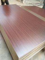 Veneer and Panels - PVC faced MDF board 4x8ft