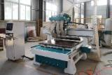 China Woodworking Machinery - 4 Spindle Multi Heads CNC Router CNC Cutting Machine With ATC For Cabinet Door Processing.