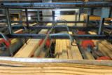 Renholmen Woodworking Machinery - Renholmen greensorting plant with 30 band slings in bins.
